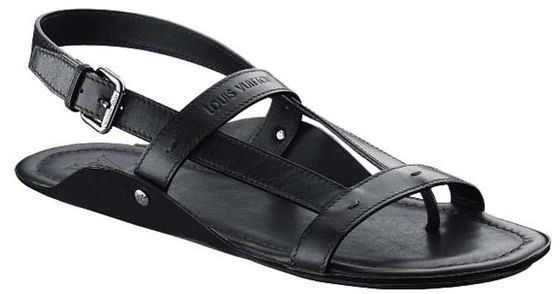Louis Vuitton мужские сандалии 2010