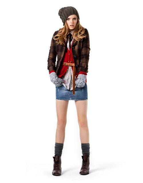 Женская молодежная коллекция Zara TRF октябрь 2010