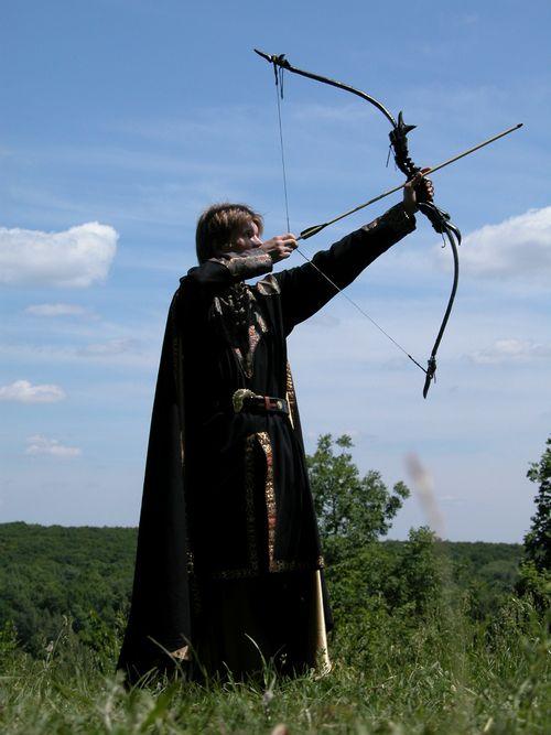 Костюм эльфийского лучника