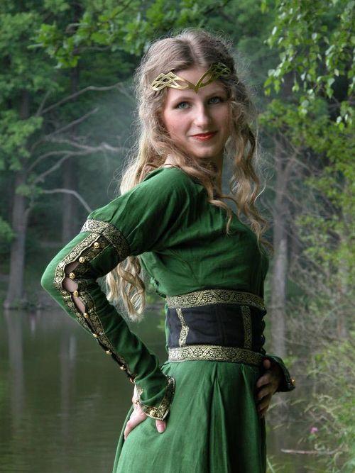 Костюм лесной принцессы