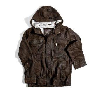 Мужская кожанная куртка ugg