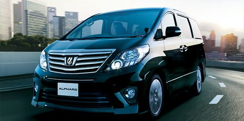 минивэн 2012-Toyota-Alphard