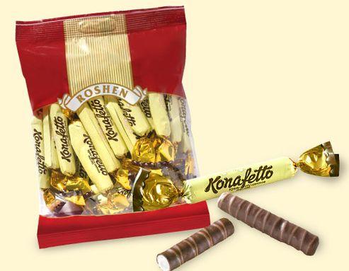 Конфеты kanafetto от Рошен