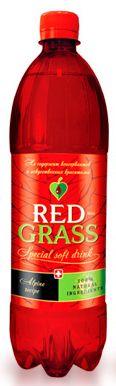 Натуральный газированный напиток Red Grass