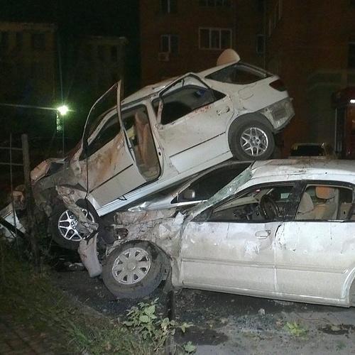 Авария на Владимировской