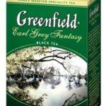 Greenfield earl grey fantasy — бергамотовый чай с необычным вкусом