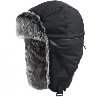 Мужская шапка-ушанка adidas