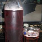 Продегустировал бельгийское вишневое пиво Морт Сюбите…