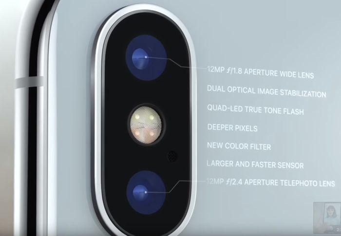 iphone-x двойная задняя камера