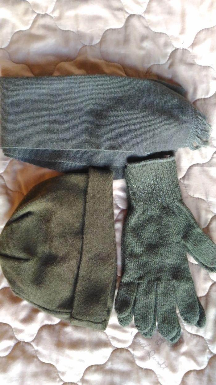 Мужские перчатки и шарф