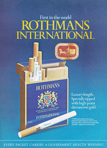 Сигареты Rothmans International