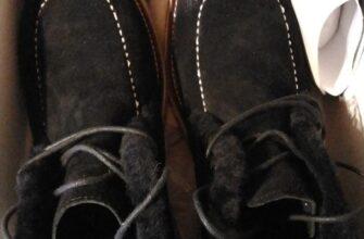 Зимние мужские ботинки Terra Impossa (натуральная замша, натуральный мех)