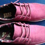 Купил на Алиэкспресс мужские туфли Surom из натуральной замши