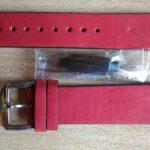 Красный ремешок для часов из яловой кожи, куплен на Али