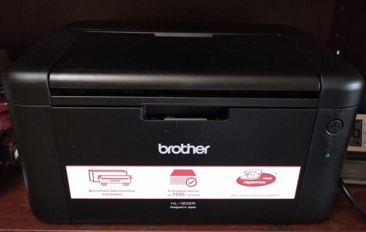 Лазерный принтер Brother-HL-1202R