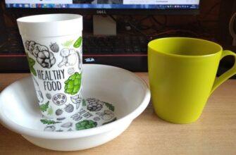 Пластиковая посуда серии Healthy Food