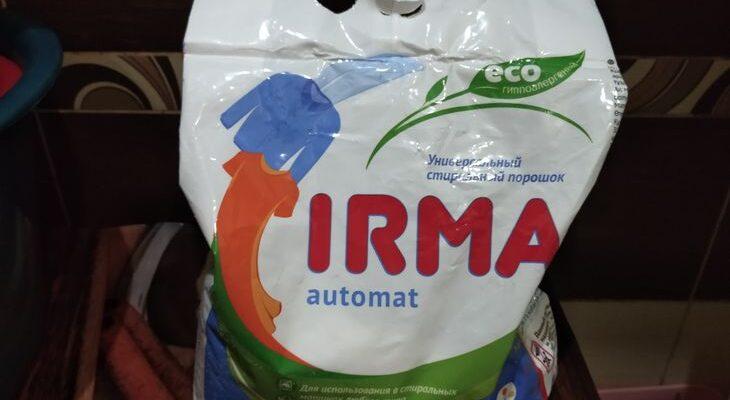 Российский универсальный стиральный ЭКО-порошок IRMA