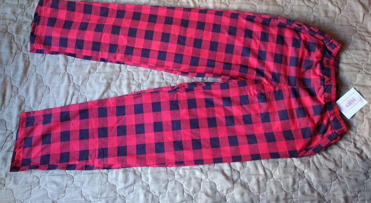 Мужские домашние штаны в клетку от российского бренда Eliza