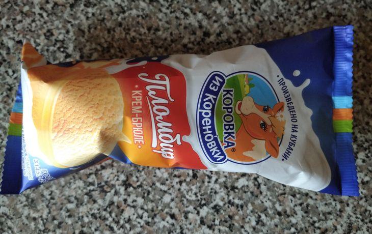 Мороженое крем-брюле Коровка из Кореновки
