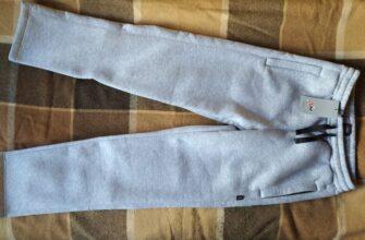 Зимние спортивные брюки российского бренда NM