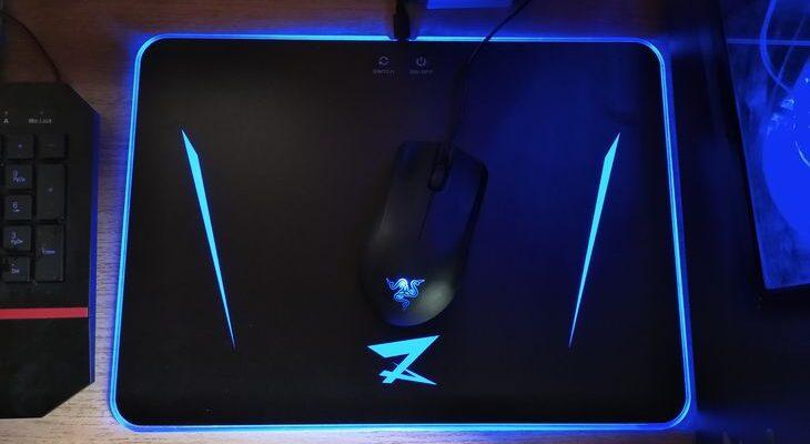 Коврик для мыши с подсветкой ZET GAMING Spectrum II